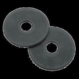 Bitringen Full  zwart 9cm