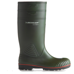 Dunlop Knielaars groen Acifort Heavy Duty full safety (S5)