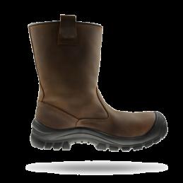 Werklaars Walkmate TORONTO bruin rubber zool S3