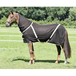 Zweetdeken All-Overcover-Cross bruin