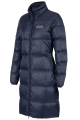 Dames winter ruitermantel Valeska Down navy