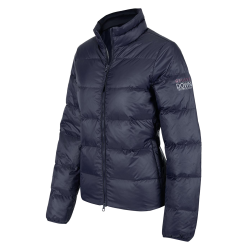 Dames winter ruiterjas Valeska Down navy