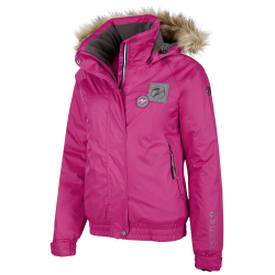 Kinder Winter ruiterjas Timber roze