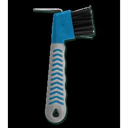 Hoevenkrabber met borstel blauw grijs