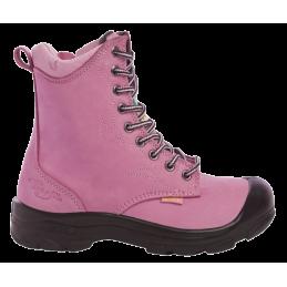 Lady Line werkschoen Enna roze hoog