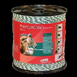 AKO PremiumLine schrikdraad wit/groen 500m