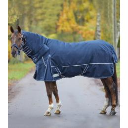 Regendeken Comfort Line met hoge nek 200 gram blauw