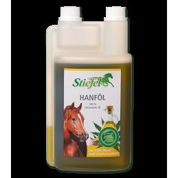 Hennepzaadolie voor paard