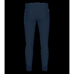 Paardrijbroek Heren Micro Siliconen Nachtblauw