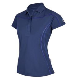 Dames Poloshirt Belana Tech navy