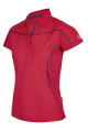 Dames Poloshirt Belana Tech sunny red