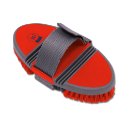 Borstel Flexi rood
