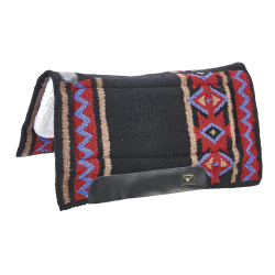 Westernpad Indian Spirit zwart/rood