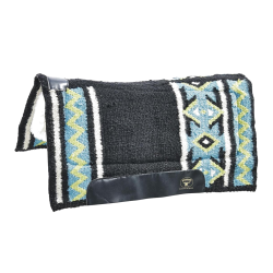 Westernpad Indian Spirit zwart/turquoise