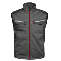 Bodywarmer Attitude Havep 50184 Charcoal grijs