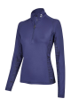 Dames Paardrij Thermoshirt stina navy