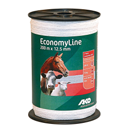 Ako EconomyLine lint wit 12.5mm 200 meter
