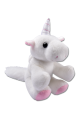 Knuffel Unicorn Emily in ei