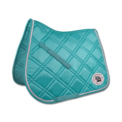 Dressuur zadeldek Fashion Ride aqua
