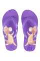 Teenslippers Theo & Mathilda paars