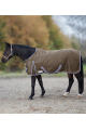 Waldhausen gevoerde outdoor deken Economic Fleece 600 denier Tabacco