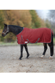 Waldhausen gevoerde outdoor deken Economic Fleece 600 denier Robijnrood