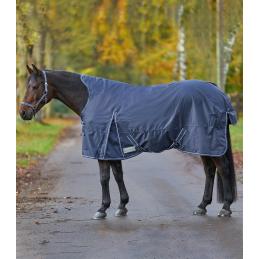 Waldhausen Outdoor deken met Fleece Hoge Nek Blauw