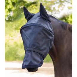 Premium Vliegenmasker Space met oren- en neusbeschermer zwart