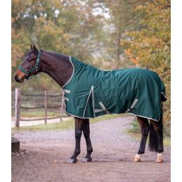 Waldhausen Outdoor deken met Fleece Hoge Nek groen