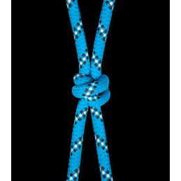 Knoophalster azuur blauw / bruin