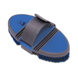 Borstel Flexi azuur blauw