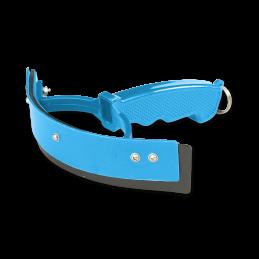 Zweetmes plastic klein azuur blauw