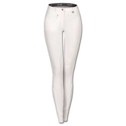 Paardrijbroek Dames Active Grip Wit mt 36 t/m 48