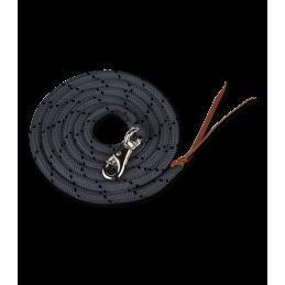 Western Halstertouw - Lead Rope Zwart