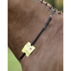 Busse Halsriem met Riding Plaat