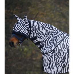 Halsstuk voor vliegendeken Zebra