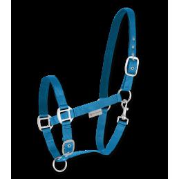 Halster Satin Azuur Blauw